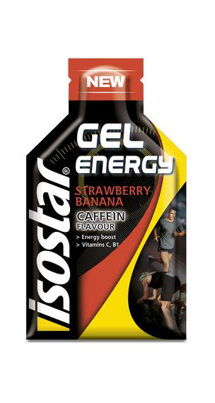 Isostar Energy Gel 35g Banane-Erdbeere